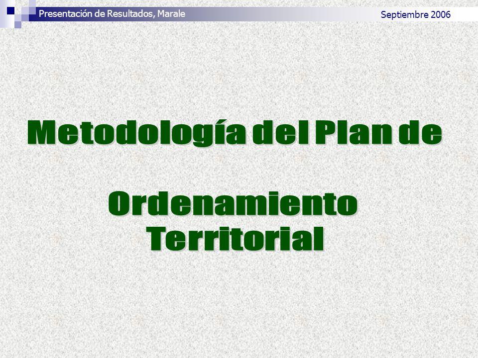 Septiembre 2006 Presentación de Resultados, Marale