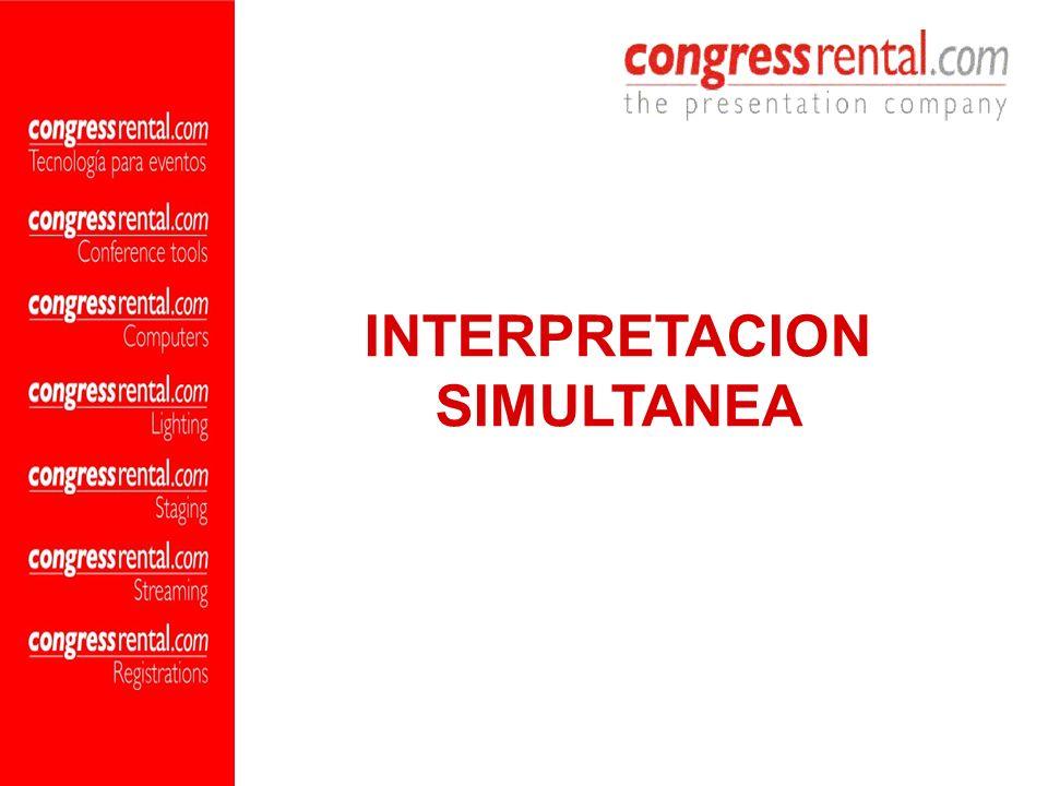 INTERPRETACION SIMULTANEA INFRA-ROJA Este sistema, tecnológicamente el más avanzado del mundo, permite una total confidencialidad de la información que se maneja en la sala.