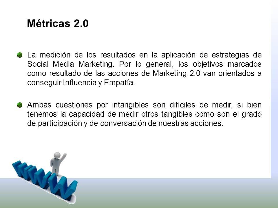 La medición de los resultados en la aplicación de estrategias de Social Media Marketing.