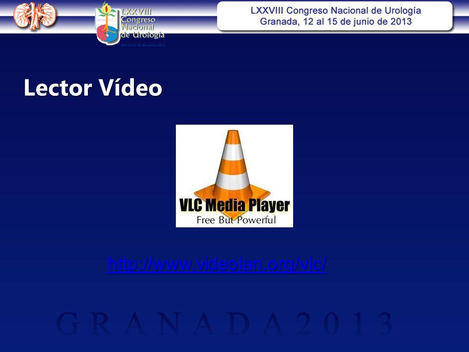Lector Vídeo http://www.videolan.org/vlc/
