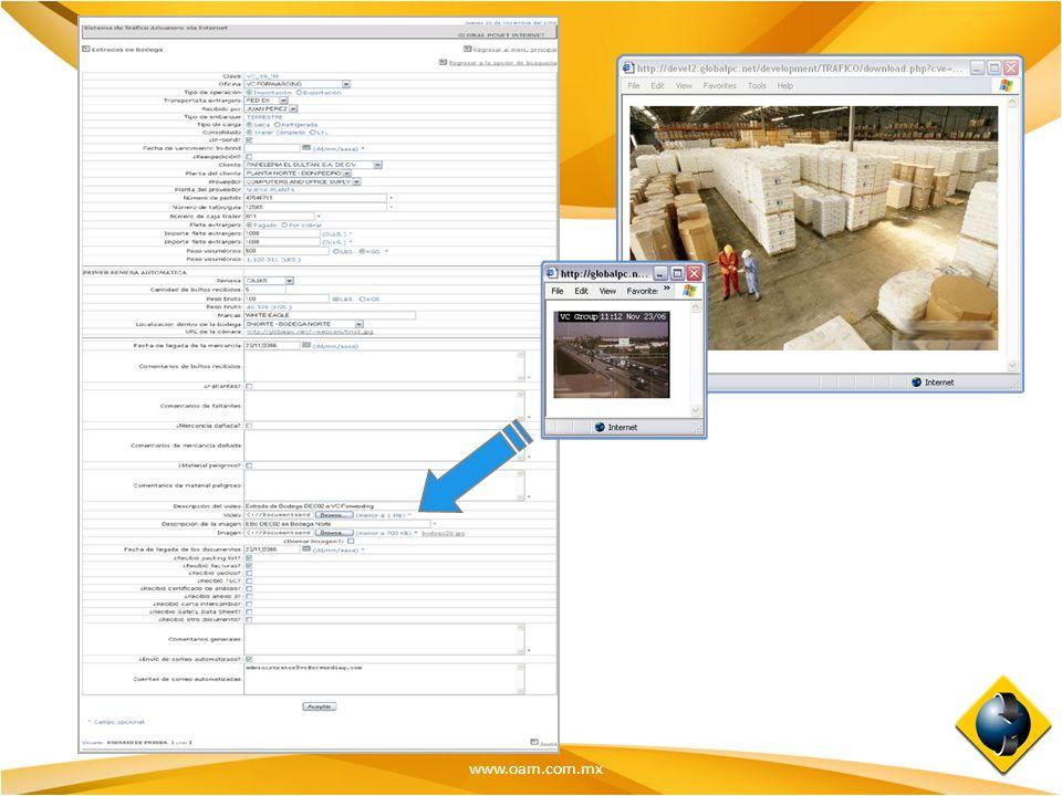 www.oam.com.mx Manejo de Imágenes y Video