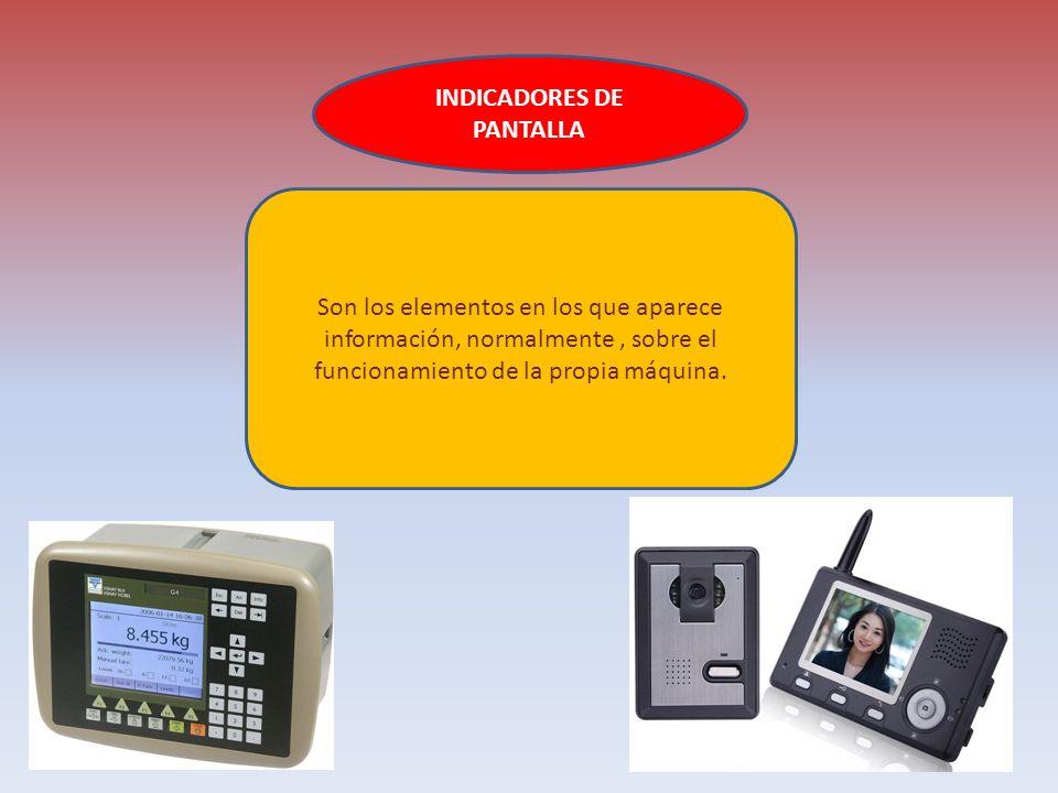 LOS SENSORES Permiten a una máquina captar información del exterior o del interior. Sensor de temperatura: según la temperatura que se programe, un ra