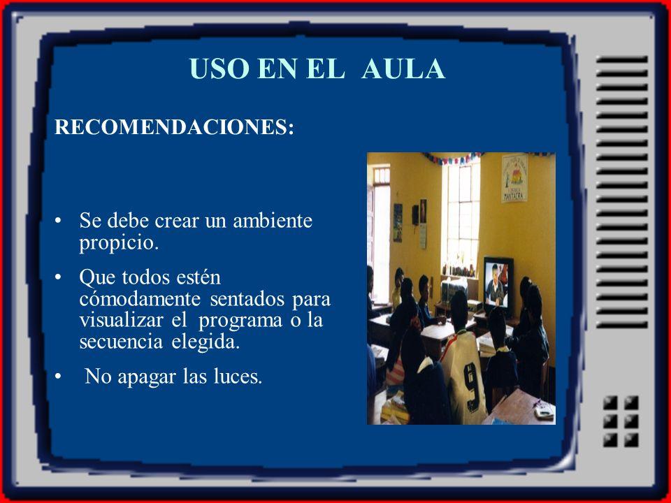 CONSERVACIÓN Y MANTENIMIENTO DE EQUIPOS AUDIOVISUALES Tapar los equipos para evitar el polvo.