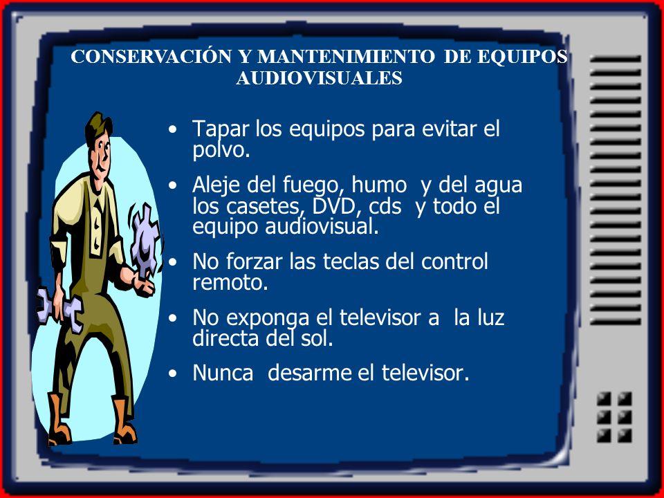El televisor recibe la señal en los conectores de audio y video, y sólo se puede ver al seleccionar la entrada de AV correspondiente.