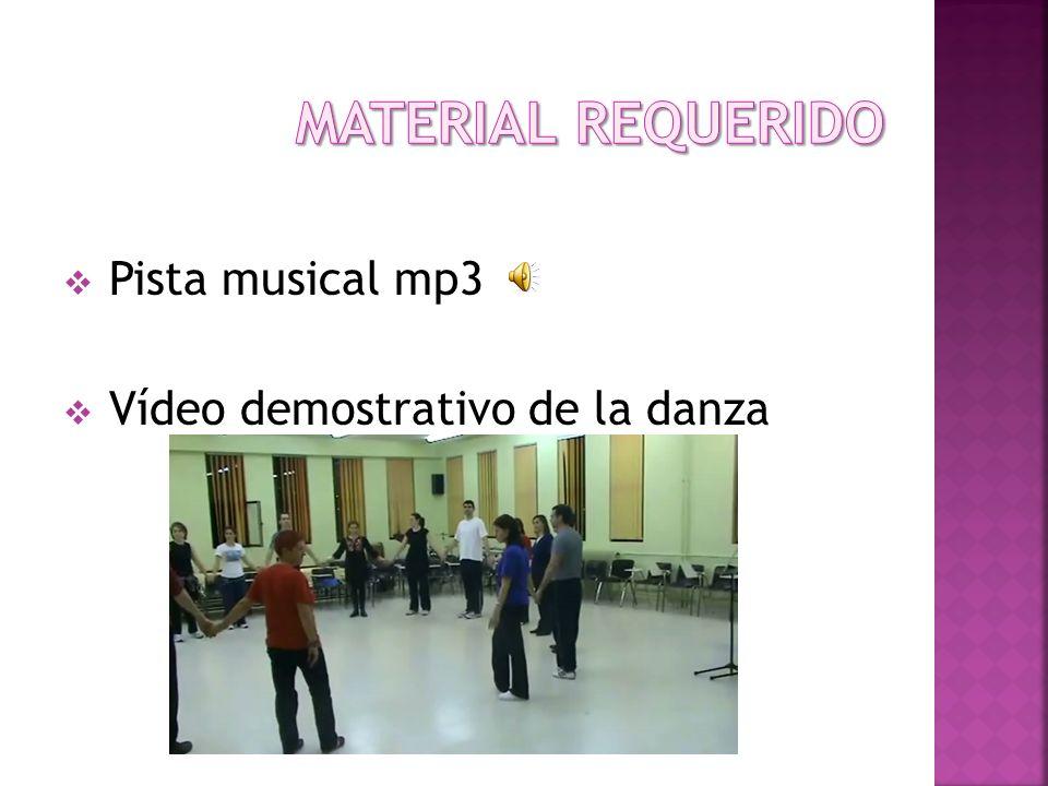 Pista musical mp3 Vídeo demostrativo de la danza