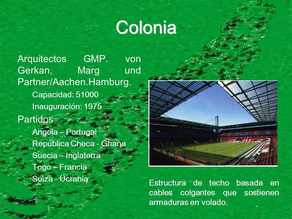 Colonia Arquitectos GMP. von Gerkan, Marg und Partner/Aachen.Hamburg.