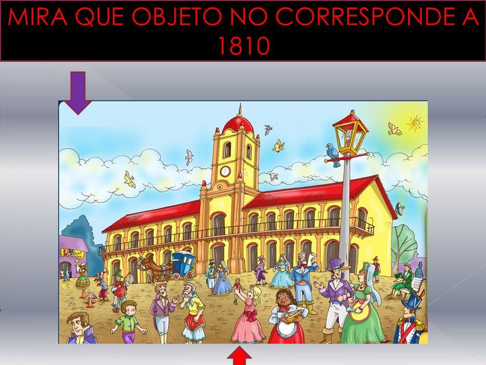 MIRA QUE OBJETO NO CORRESPONDE A 1810