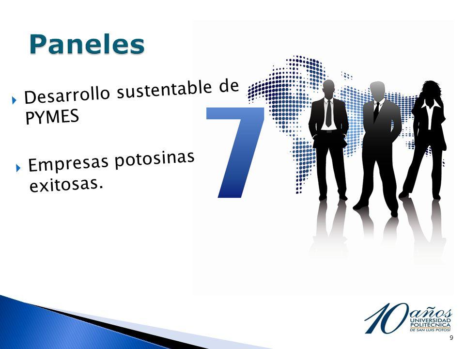 Desarrollo sustentable de PYMES Empresas potosinas exitosas. 9