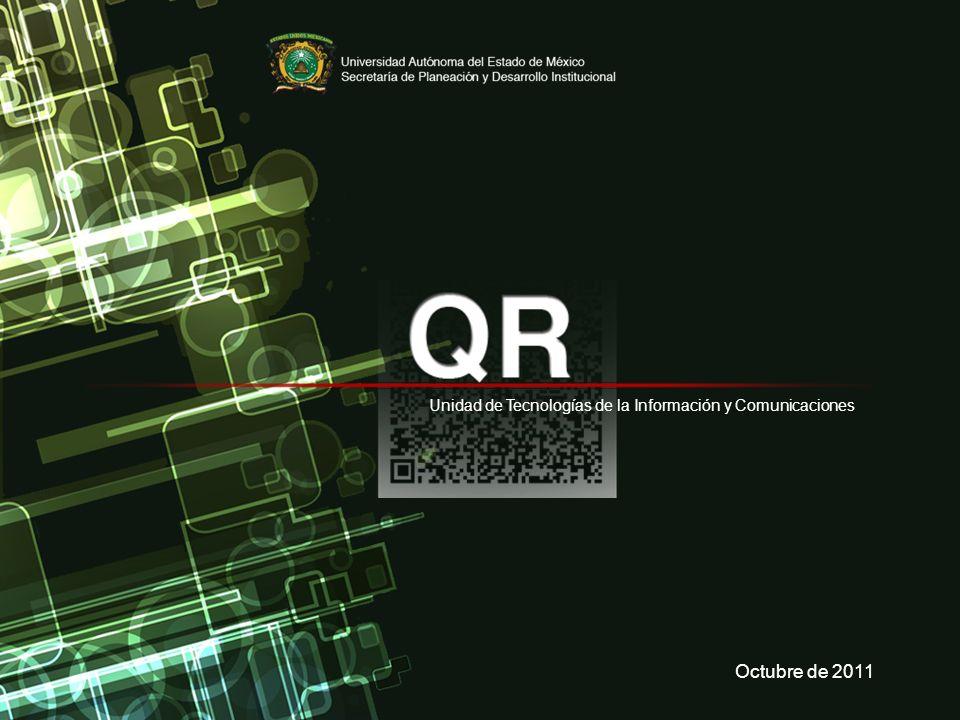 Unidad de Tecnologías de la Información y Comunicaciones Octubre de 2011