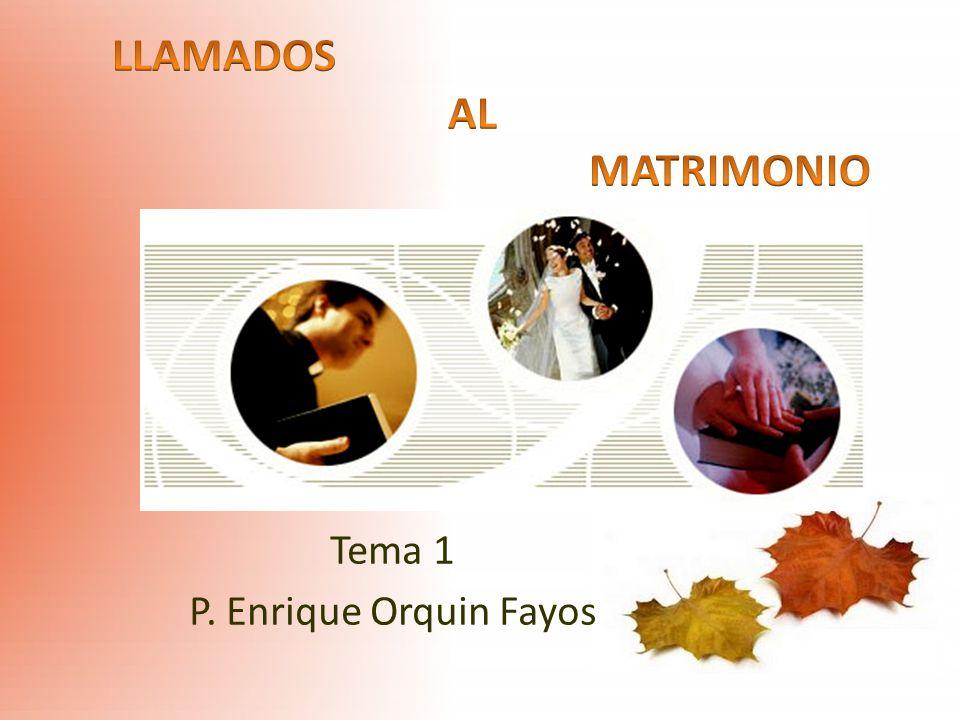 Tema 1 P. Enrique Orquin Fayos