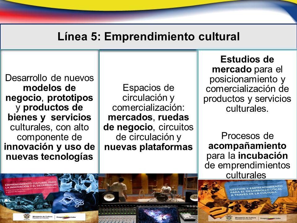 Giras, intercambios, presentación de grupos de proyección, circuitos Línea 6: Circulación artística a escala nacional