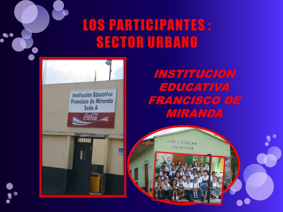 INSTITUCION EDUCATIVA FRANCISCO DE MIRANDA