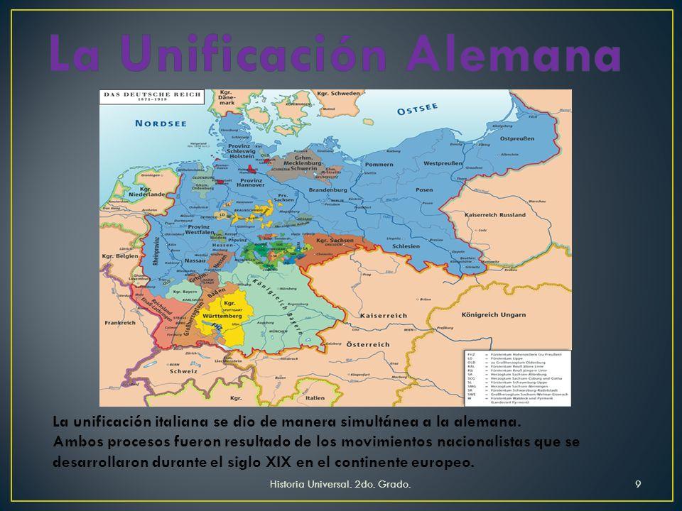 Disminuyó el poder del imperio austro-húngaro Surgió Alemania En los Balcanes se desencadenan conflictos por lograr la independencia política Historia