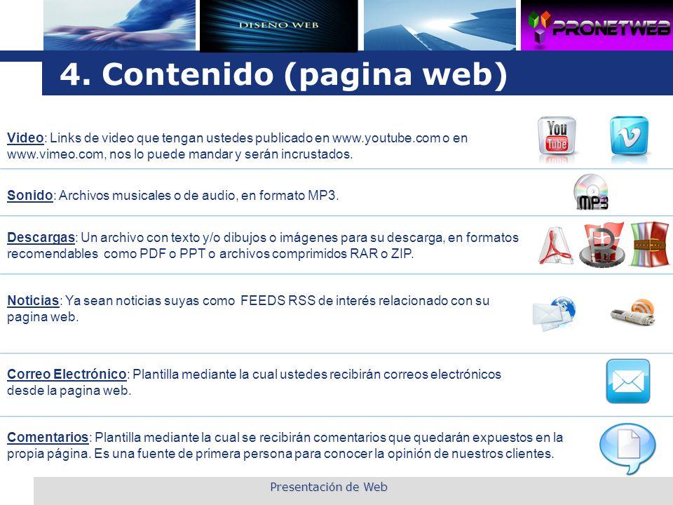 L o g o Presentación de Web