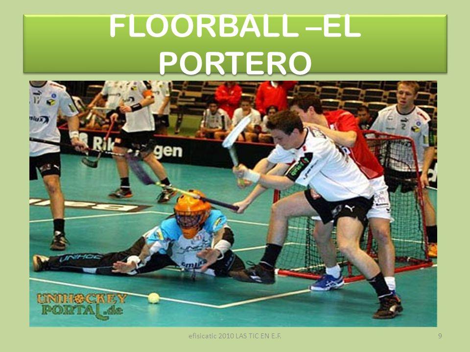 efisicatic 2010 LAS TIC EN E.F.9 FLOORBALL –EL PORTERO