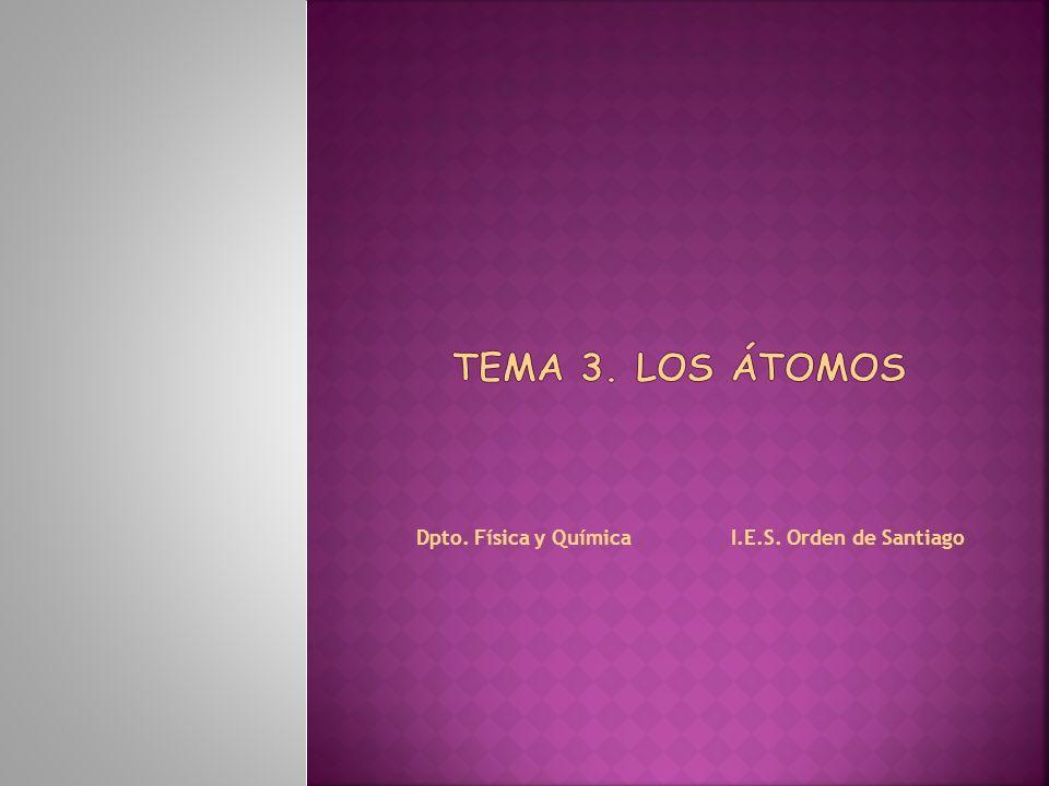 Dpto. Física y Química I.E.S. Orden de Santiago