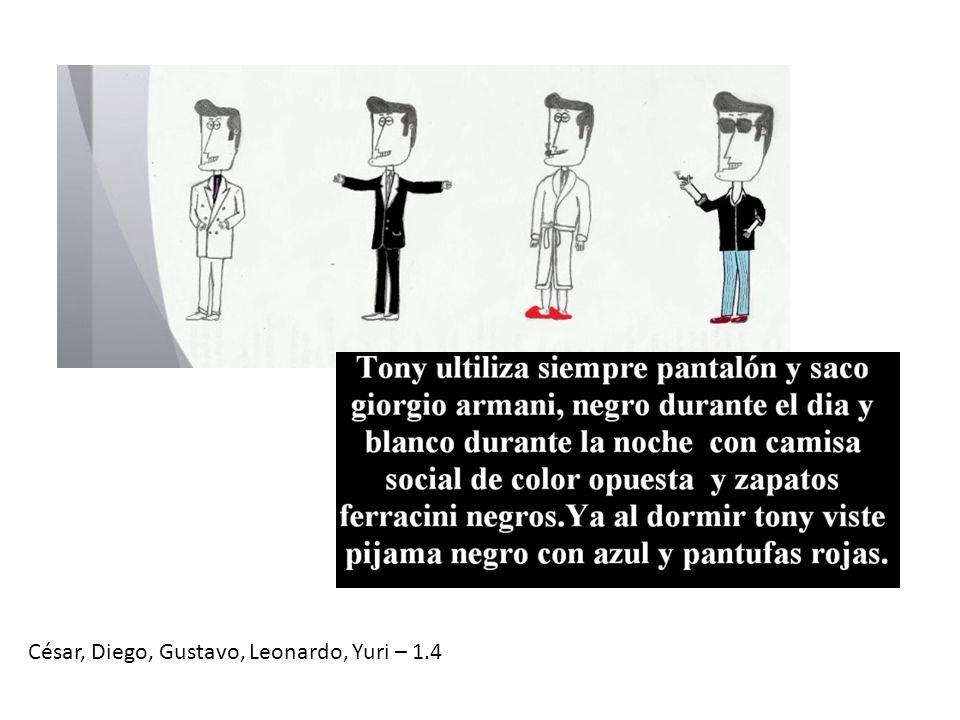 César, Diego, Gustavo, Leonardo, Yuri – 1.4