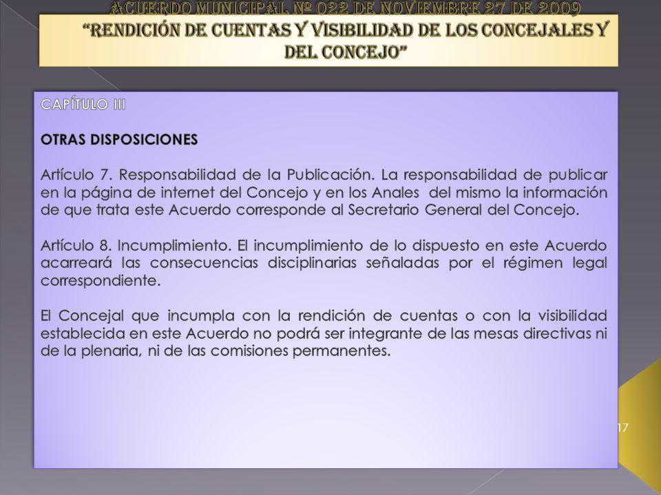 Artículo 5. Grabación digital de las sesiones.