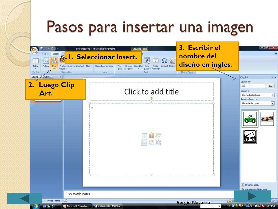 Portafolio electrónico Luego de crear la carpeta para guardar todos los documentos que utilicemos en el portafolio, aprendamos cómo insertar una image