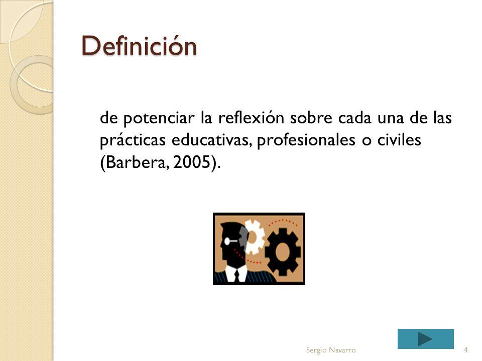 Definición El portafolio electrónico es un instrumento que tiene como objetivo común la selección de muestras de trabajo o evidencias de consecución d