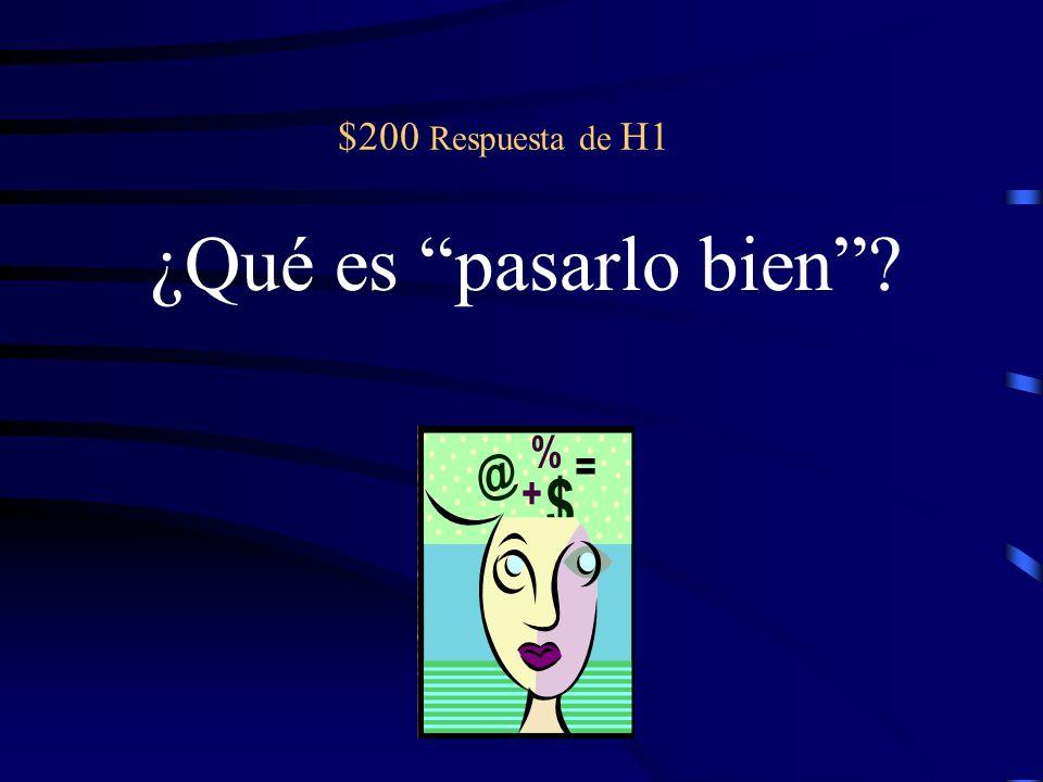 $400 pregunta de H2 Es importante que todos _________ (hacer) caso al guía de estudiar.