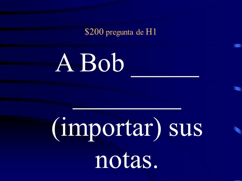 Riesgo Doble Verbos como gustar ¿Se puede usar el subjuntivo.
