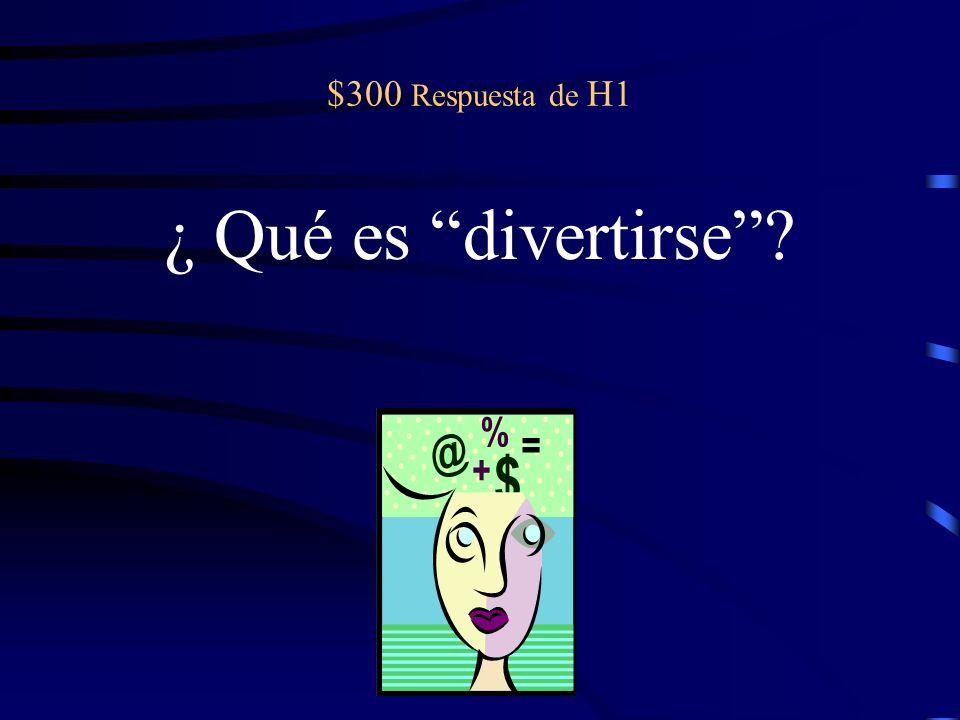$600 Question from H4 No es bueno que muchas personas (decir) palabras malas.
