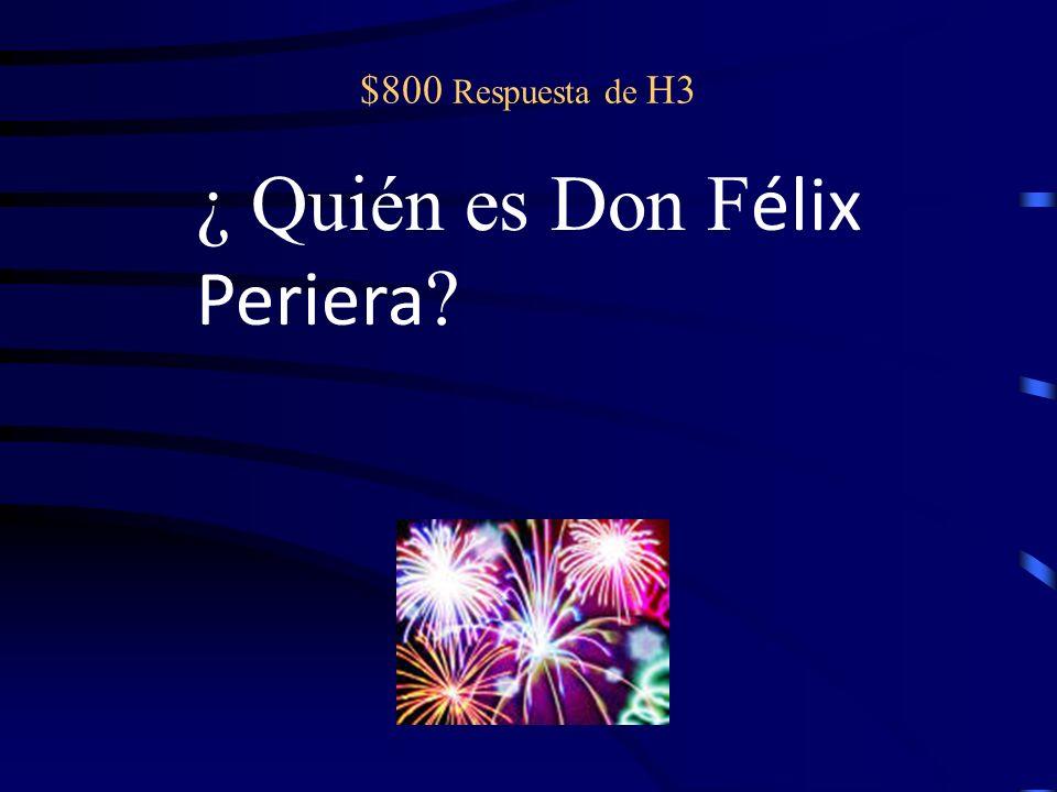 $800 pregunta de H3 El patr ón; el padre de Graciela; maltrata a María Isabel