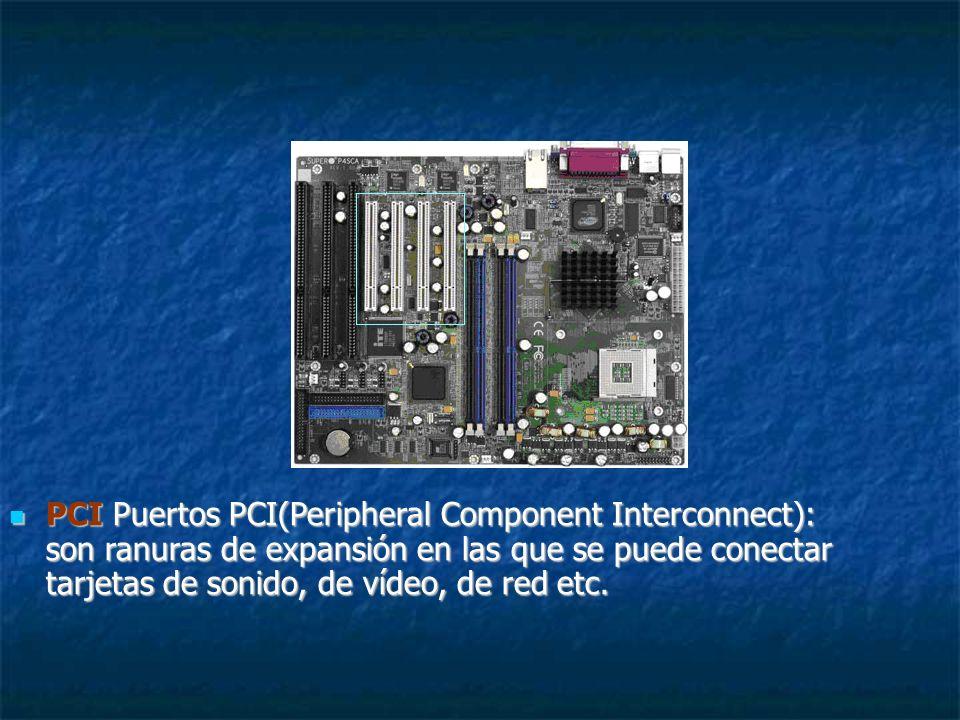 SLOT DIMM ( Dual In-line Memory Module ) Los Dimms fueron reemplazados por el DDR y aparecen en PC 66, PC 100 y PC 133.