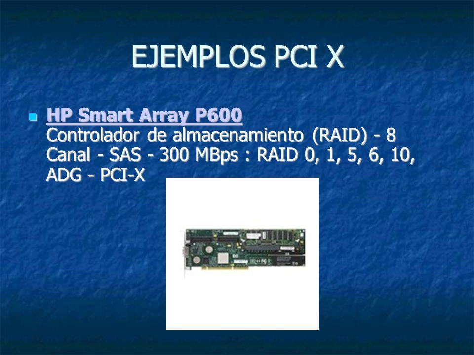 PCI Express (denominado a veces 3GIO, por tercera generación de E/S ) PCI Express (denominado a veces 3GIO, por tercera generación de E/S ) es un nuevo desarrollo del bus PCI que usa los conceptos de programación y los estándares de comunicación existentes, pero se basa en un sistema de comunicación serie mucho más rápido.