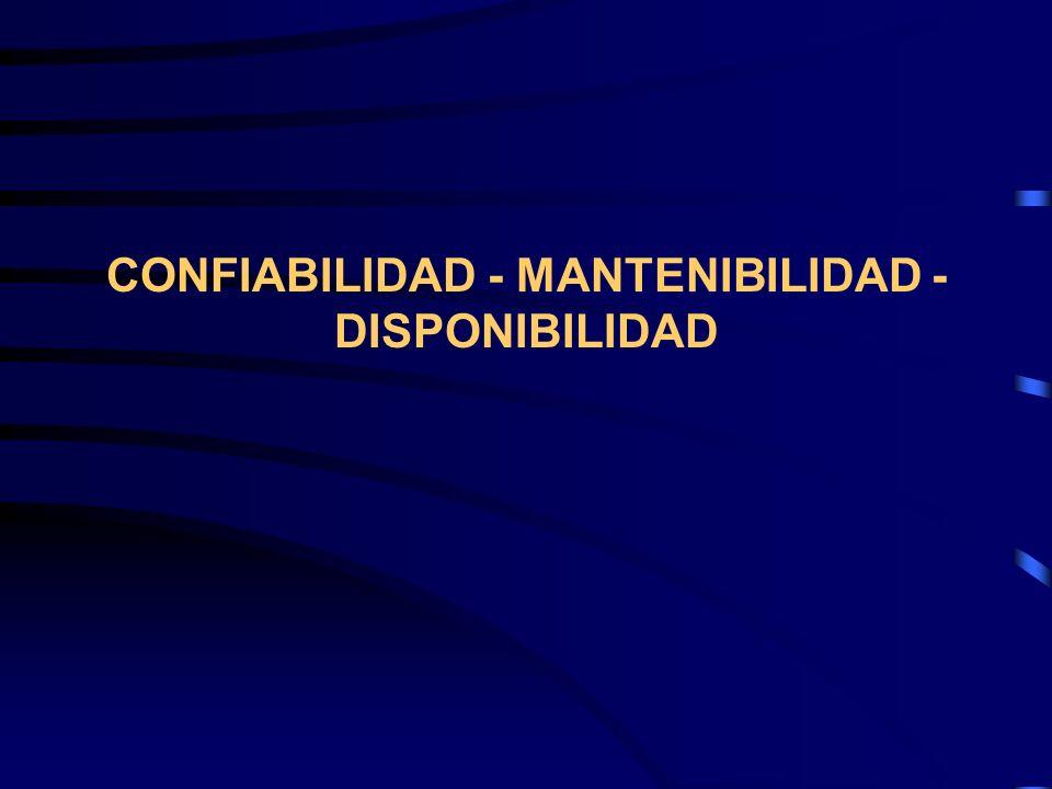 Para poder coordinar la mantenibilidad con la confiabilidad es necesario establecer bien el MTTR.