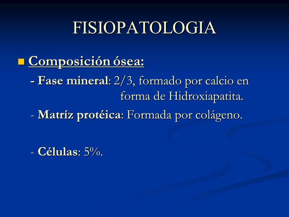 CONSOLIDACION Definición: Corresponde a todos los fenómenos fisiopatológicos que llevan a la reparación del hueso fracturado.