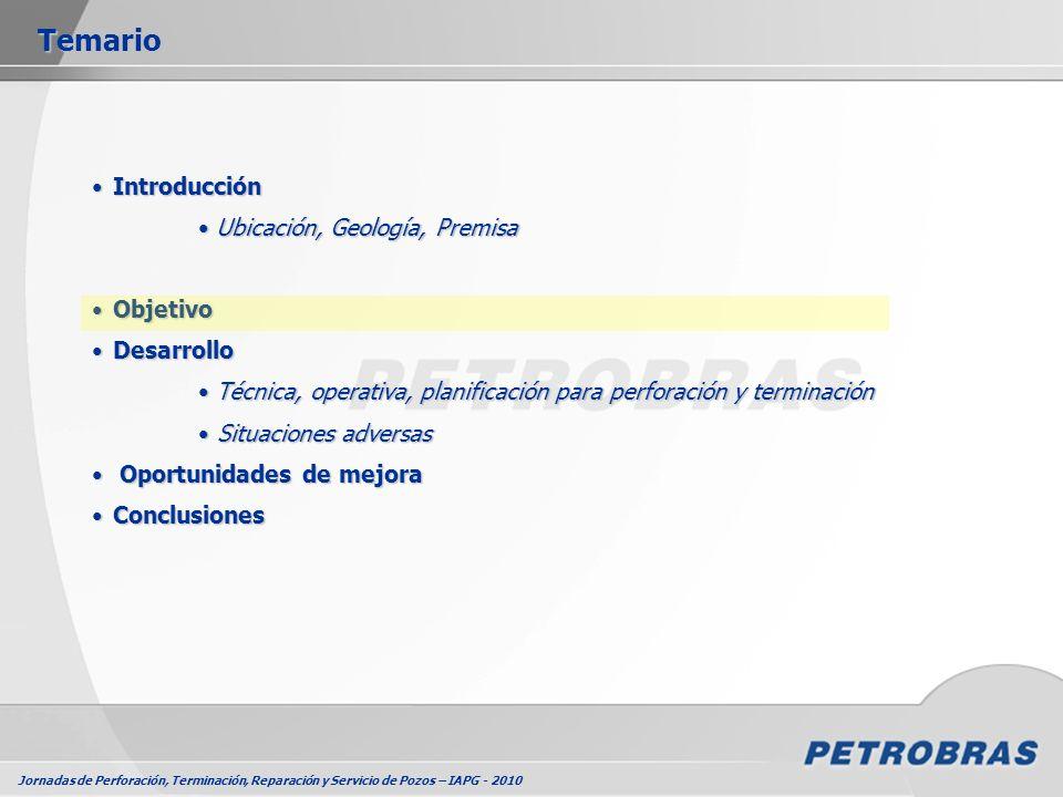 Jornadas de Perforación, Terminación, Reparación y Servicio de Pozos – IAPG - 2010 Equipamiento Rig LessEquipamiento Rig Less Boca de PozoBoca de Pozo Metodología empleadaMetodología empleada Terminación