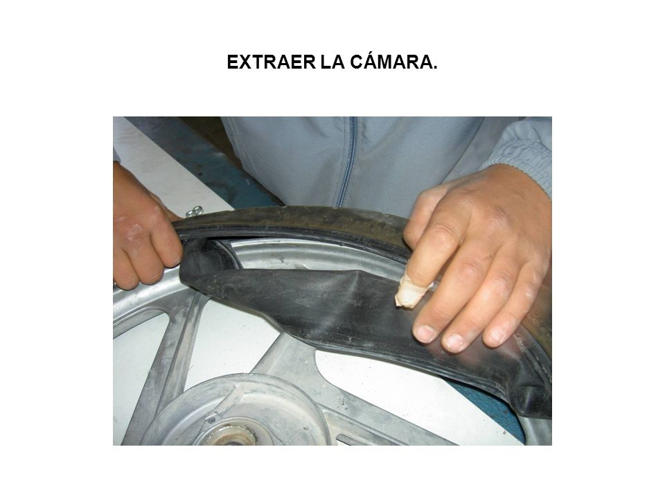 EXTRAER LA CÁMARA.