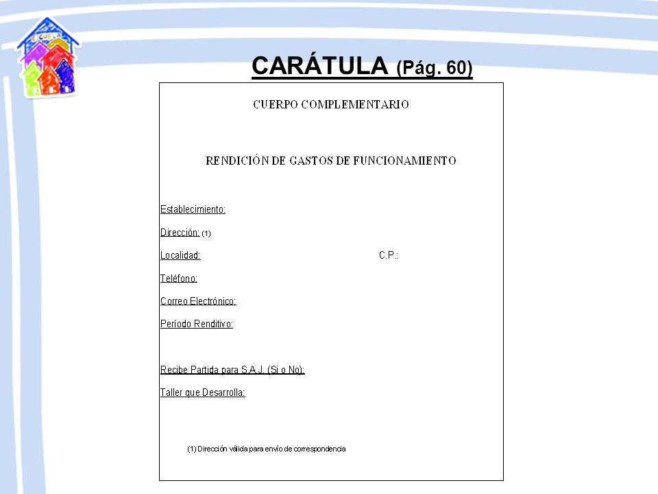NOTA DE ELEVACIÓN (Pág. 23 y 49)