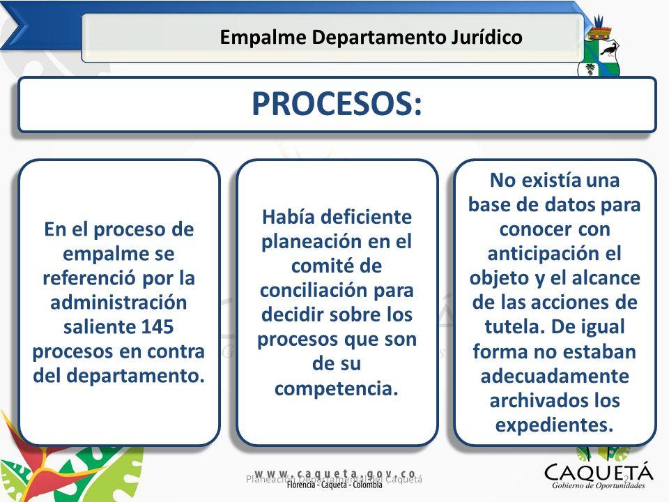 13Planeación Departamental del Caquetá ¿Qué hemos realizado en estos 100 días.