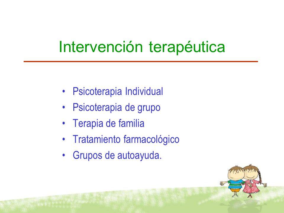 FACTORES CURATIVOS Esperanza Universalidad Información Altruismo Recapitulación correctiva del grupo familiar Socialización