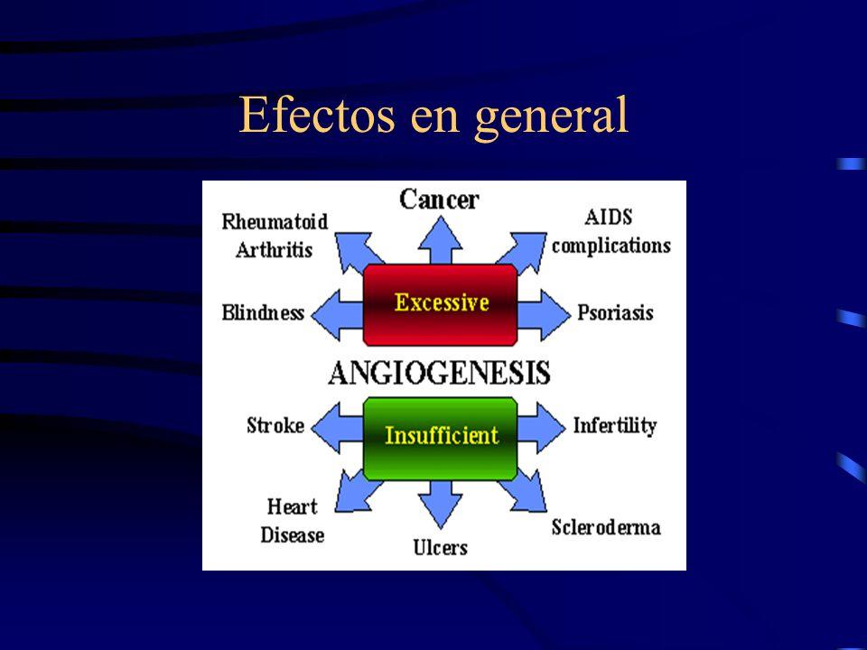 Inflamación Crónica (reparación) Angiogénesis Tumores