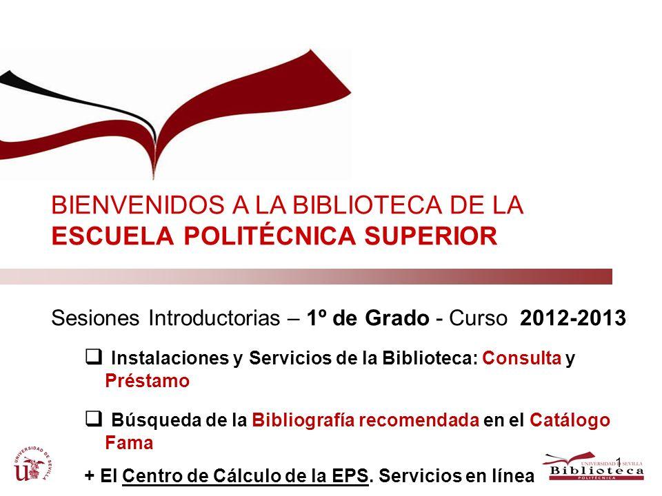 1.En esta sesión, queremos... Presentaros la Biblioteca de la Univ.