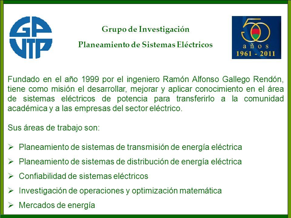 Fundado en el año 1999 por el ingeniero Ramón Alfonso Gallego Rendón, tiene como misión el desarrollar, mejorar y aplicar conocimiento en el área de s