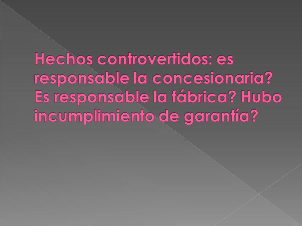 1.Responsabilidad por el vicio de la cosa (Art. 40.