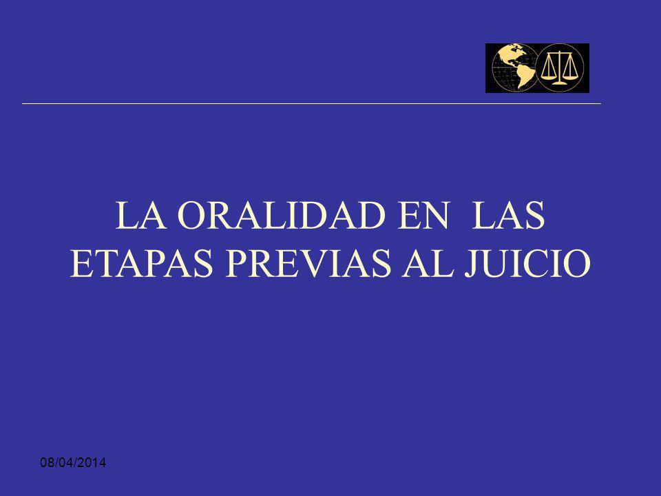 08/04/2014 Fin Víctima, Fiscal o Ministerio Público solicitan incidente de reparación integral El Juez de conocimiento abre incidente e inicia audienc