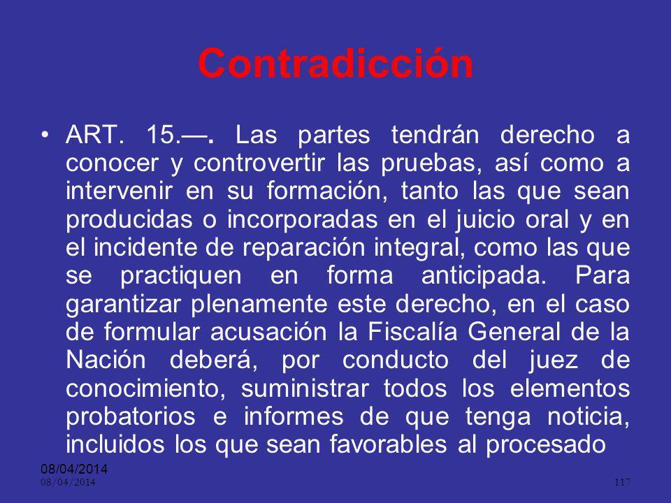 08/04/2014 116 Aspecto práctico ART.