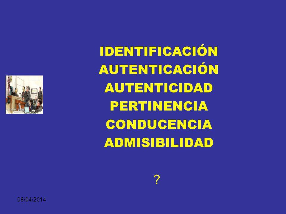 08/04/2014 Según el medio utilizado para presentarla en el juicio puede ser: Evidencia Demostrativa DESARROLLO NORMATIVO Presentación de la evidencia