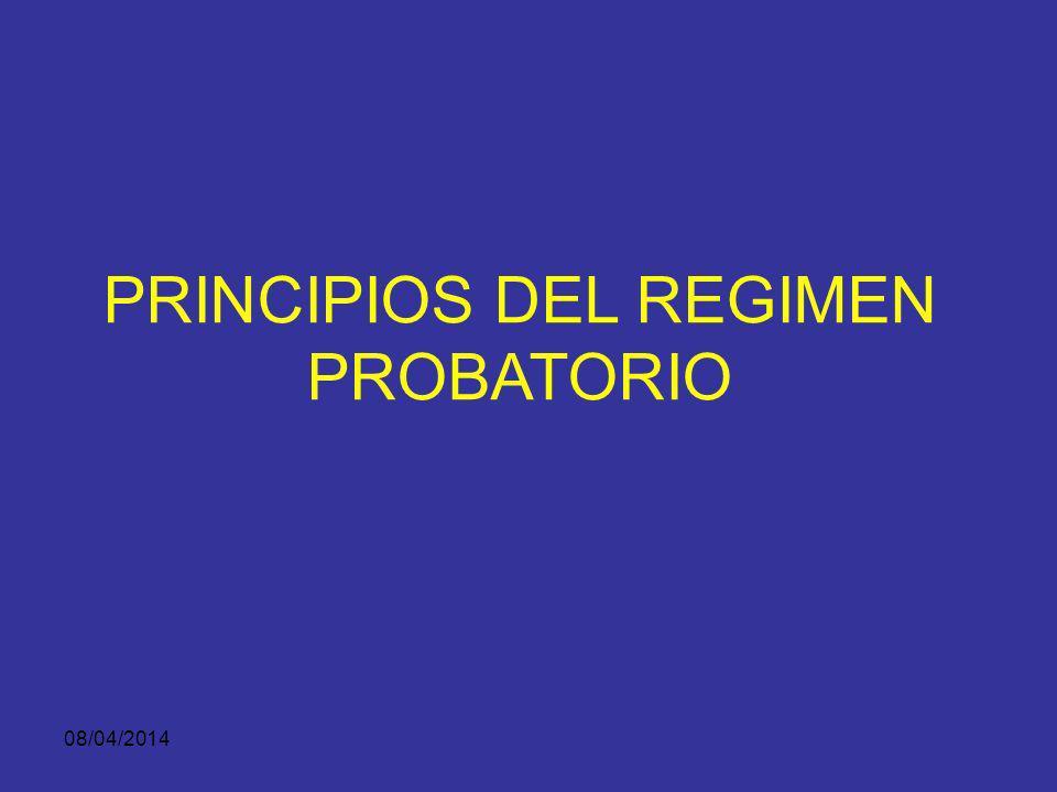 08/04/2014 CRITERIOS DE VALORACION DE EMP Y EVF LEGALIDAD AUTENTICIDAD, SOMETIMIENTO A CADENA DE CUSTODIA GRADO ACTUAL DE ACEPTACION CIENTIFICA, TECNI