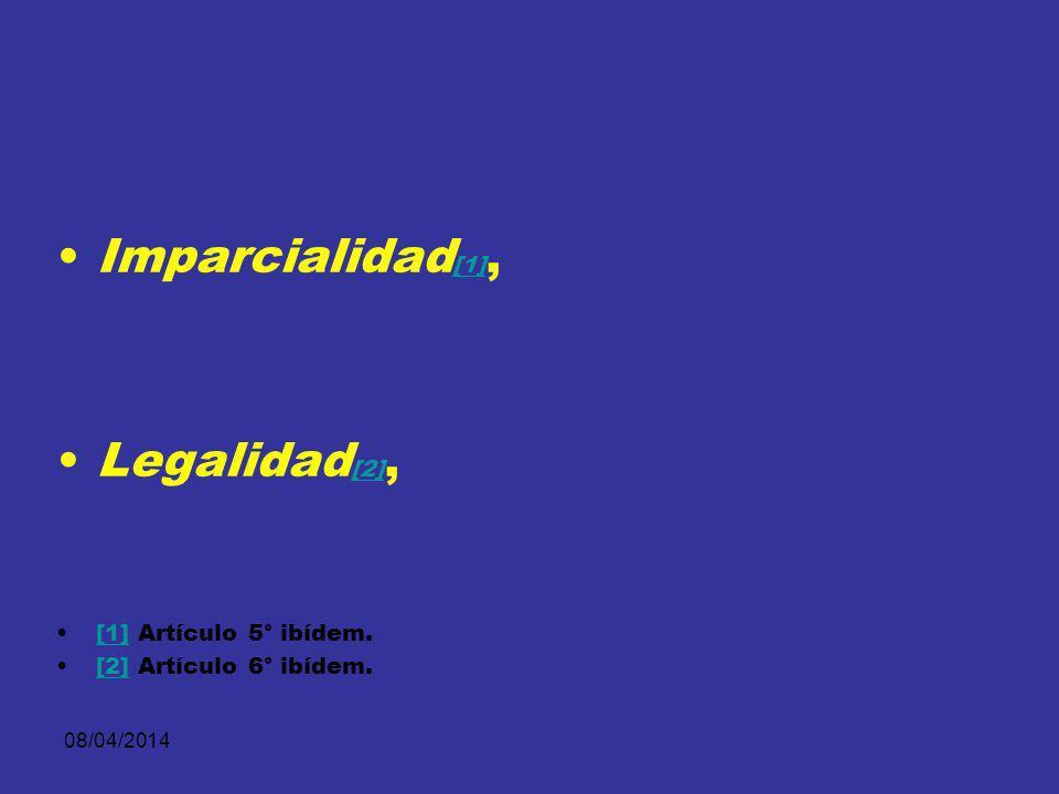 08/04/2014 Debido proceso [1], [1] Igualdad [2], [2] [ 1] Constitución Política, artículo 29.