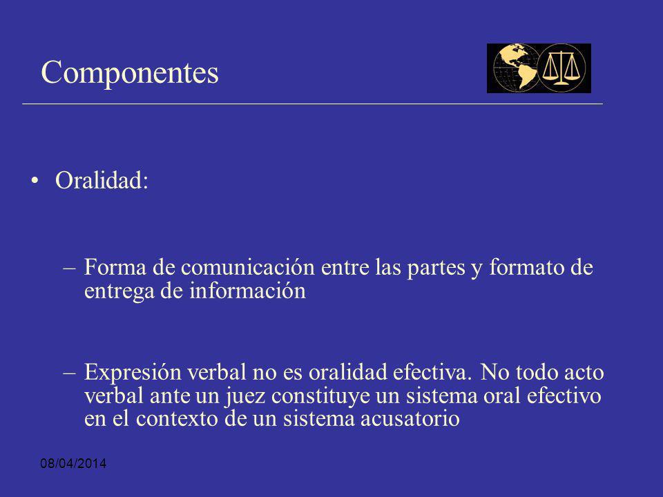 08/04/2014 Funciones de la Audiencia Resguardar la publicidad de las decisiones que se toman en el sistema de justicia criminal