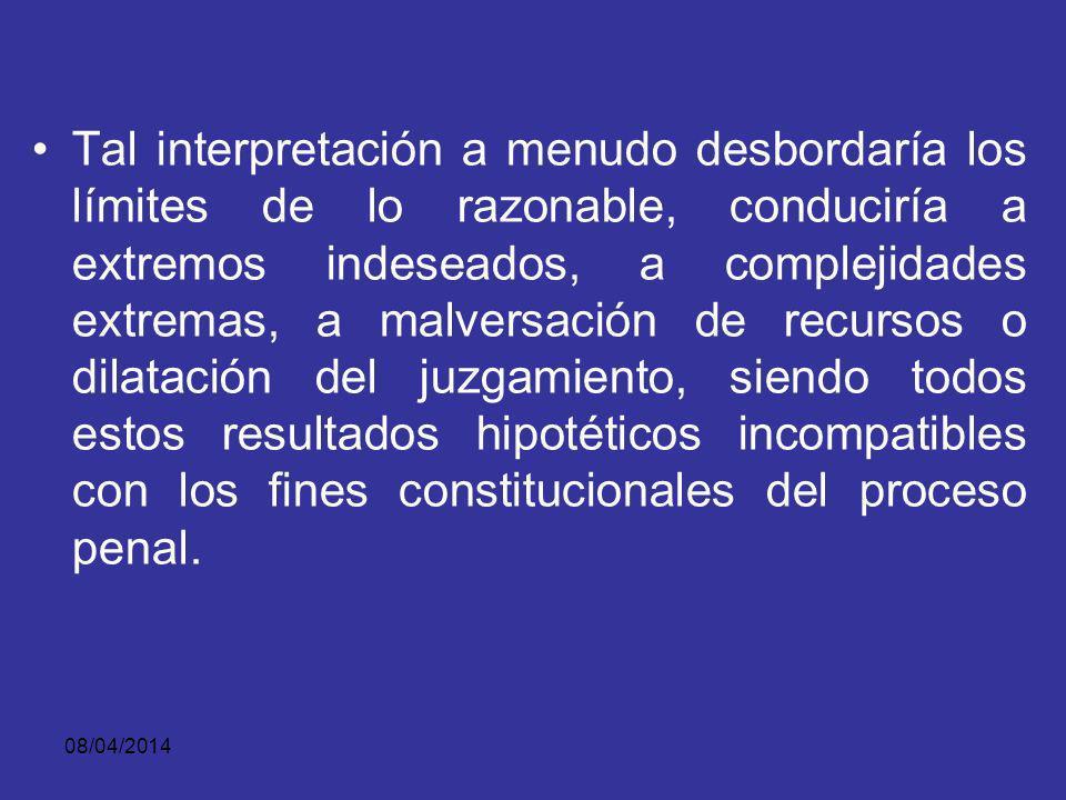08/04/2014 El verbo suministrar no puede entenderse únicamente como entregar físicamente, o dar, o poner en las manos del otro todas las evidencias ni