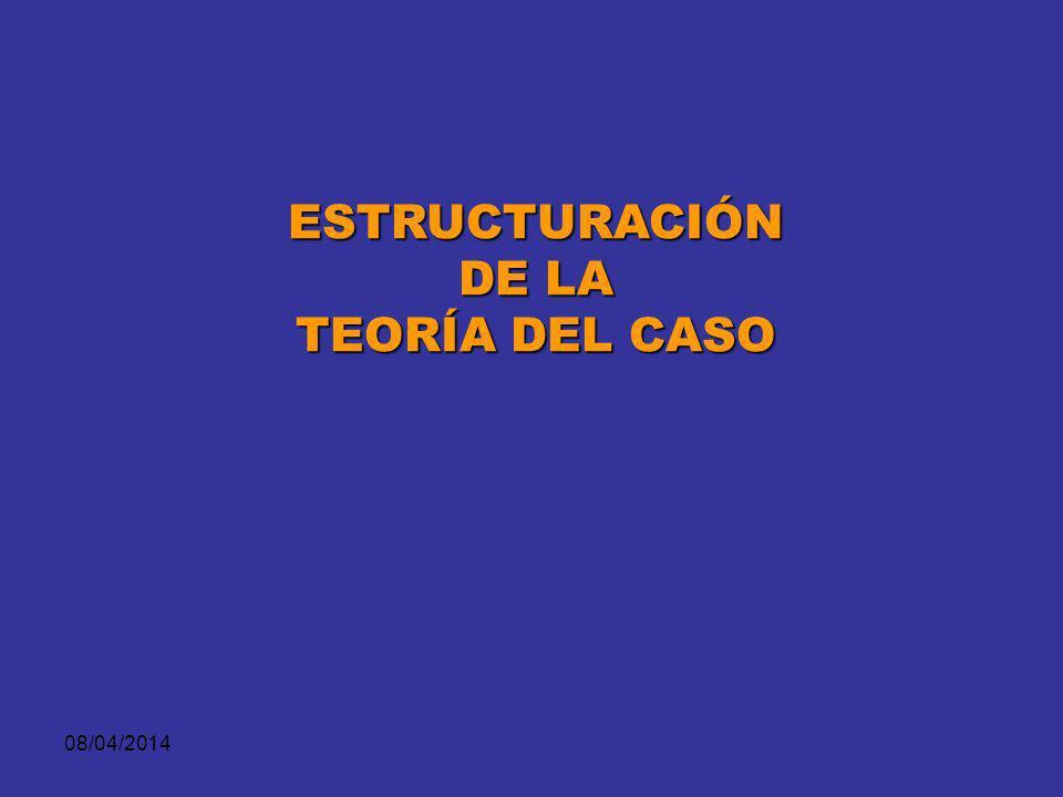 08/04/2014 CASO REFERENCIAL EL FISCAL EL DEFENSOR Lo ProbatorioLo Fáctico Lo Jurídico Lo FácticoLo Probatorio Secuestro.