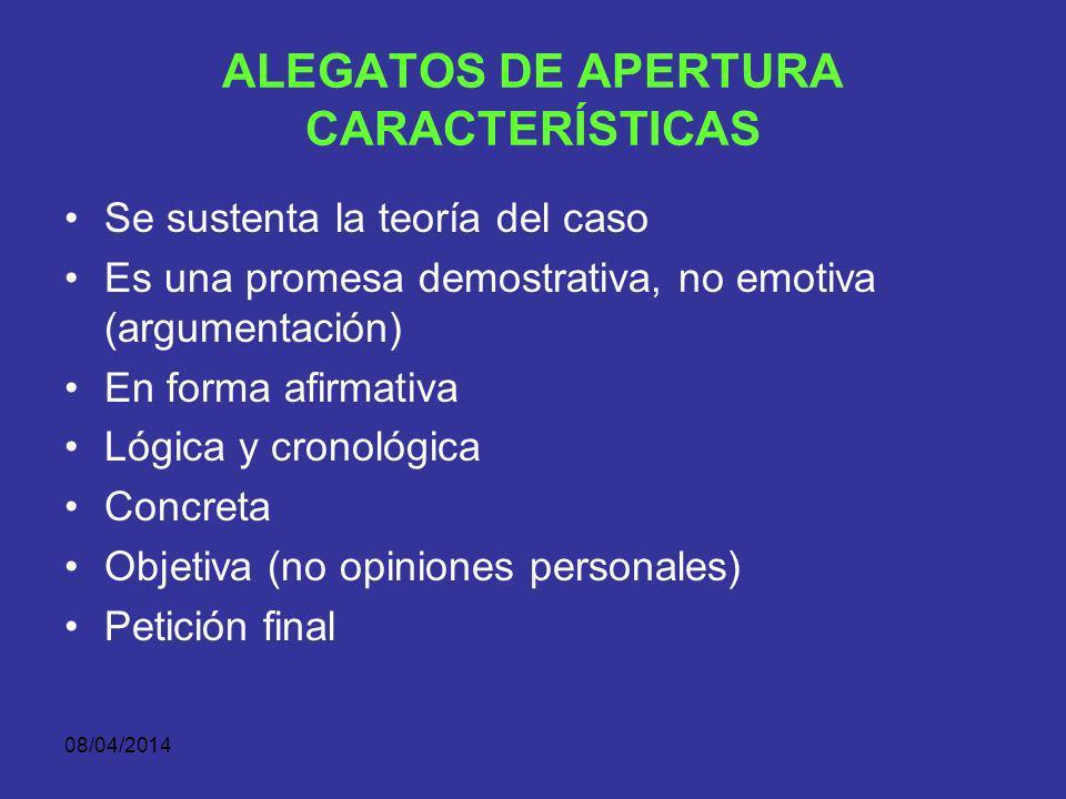 08/04/2014 EL JUICIO ACUSATORIO